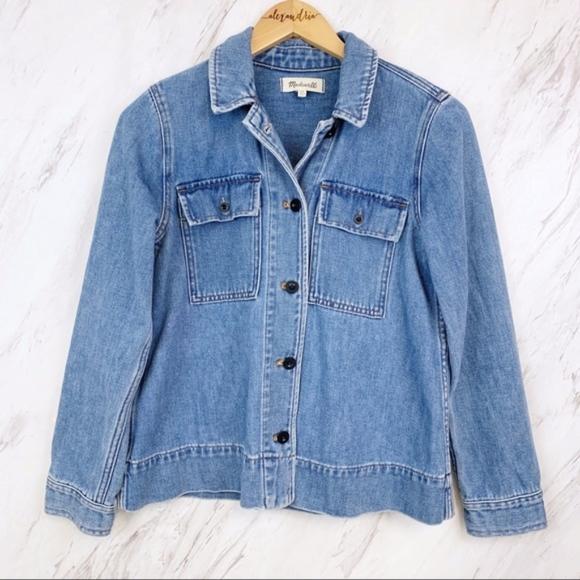 Madewell Jackets & Blazers - Madewell  |  Northward Denim Jacket, XS